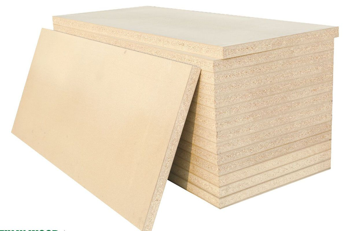 54MM防火门芯刨花板 / Fire door core particleboard